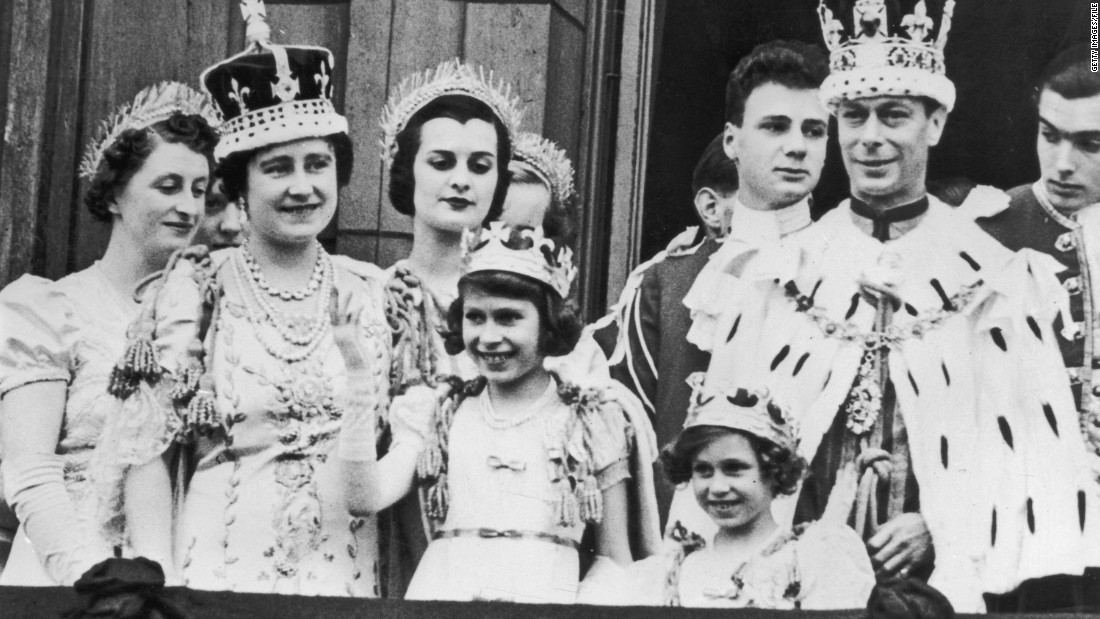 "King George VI was originally the ""spare"" heir, but he was crowned when his older brother, Edward VIII abdicated the throne after less than a year in order to marry American divorcee Wallis Simpson."