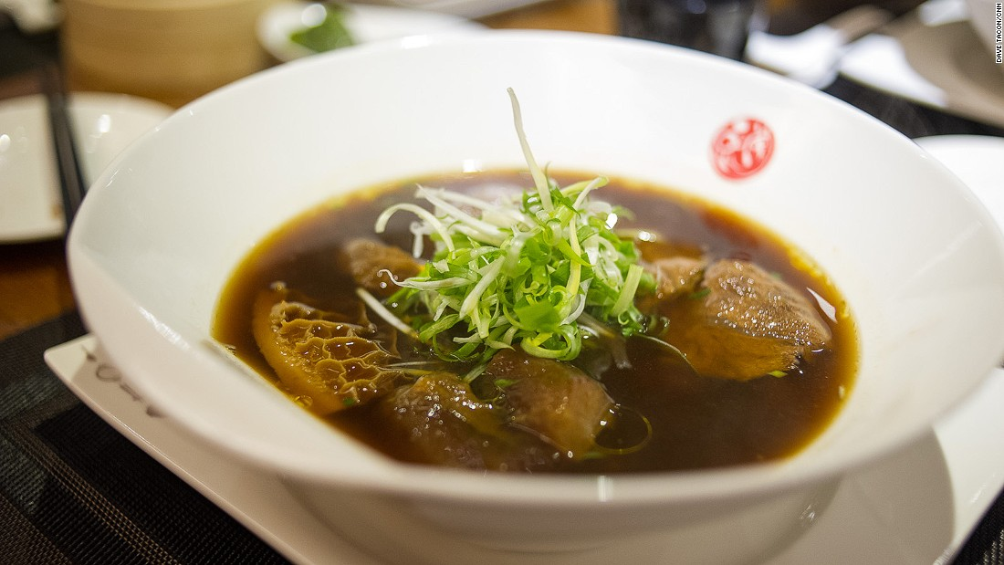 Opened in 2014, this stylish eatery offers a wide variety of beef noodle soups as well as classic street foods.