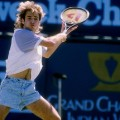 tennis fashion andre agassi 1980s
