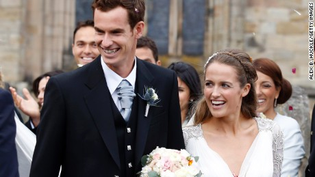 Andy Murray weds Kim Sears in 'royal wedding of Scotland'