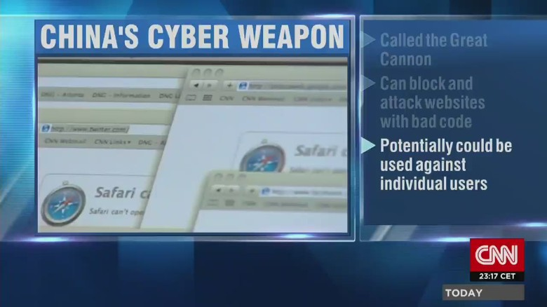 'Great Cannon' pinpoints web content to attack