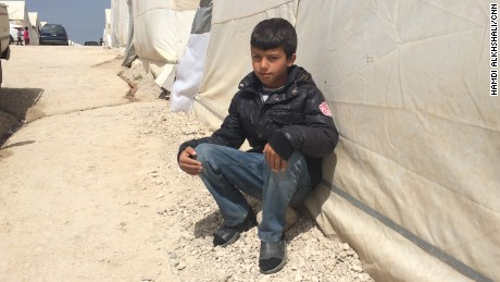 Shariya refugee camp in Duhok. The camp holds 19,000 Yazidis that fled from Mount Sinjar and surrounding Yazidi towns.