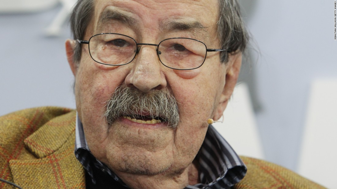 "Nobel literature laureate <a href=""http://www.cnn.com/2015/04/13/living/gnter-grass-nobel-literature-author-death/index.html"" target=""_blank"">Gunter Grass</a>, best known for his novel ""The Tin Drum,"" has died, his publisher said April 13. He was 87."