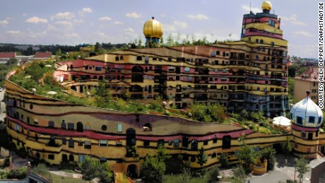 There's nothing conventional about Waldspirale.
