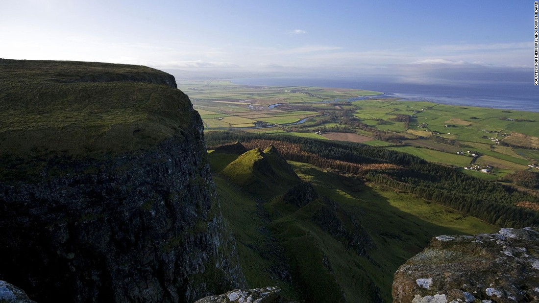 "Northern Ireland continues to be a key filming location for ""Game of Thrones."" Some of the action in season 5 takes place in the shadow of Binevenagh Mountain, County Londonderry."