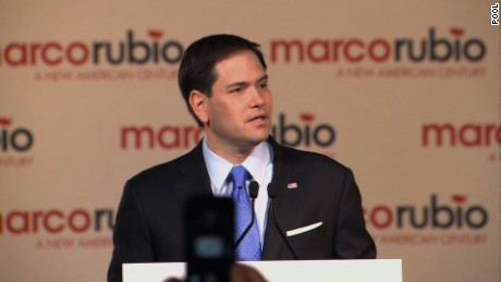 Senator Marco Rubio announced Monday, April 13, 2015, his campaign to seek the 2016 Republican presidential nomination. The 43-year old freshman senator from Florida seeks to paint himself as the best choice to lead America in the 21st Century -- A New American Century.