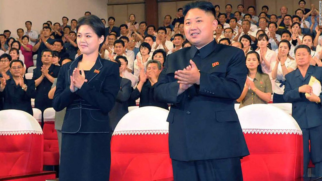 Ri first appeared alongside Kim in an image released in July 2012. They were seen watching a performance of the Moranbong band in Pyongyang. The same month North Korean state television confirmed that Kim and Ri were married, setting off a flurry of speculation about who she was, how long they'd been married and whether their union had produced any children.