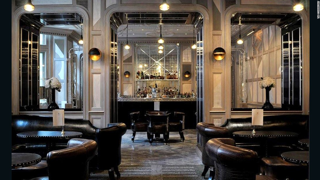 The Connaught Hotel's signature bar is a triple threat: killer cocktails, prime London address and architectural style.