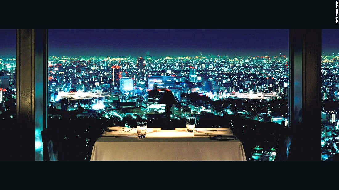 "On the Park Hyatt's 52nd floor, the New York bar is renowned for breathtaking views over Tokyo, nightly jazz, sophisticated ambiance and a ""Lost in Translation"" cameo people still come to relive."