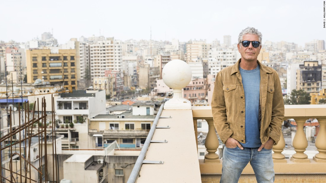 """This was a city where nothing made any damn sense at all -- in the best possible way,"" <a href=""http://www.cnn.com/2015/06/20/travel/beirut-bourdain-parts-unknown/"">Bourdain said</a> about a return visit to Beirut, Lebanon."