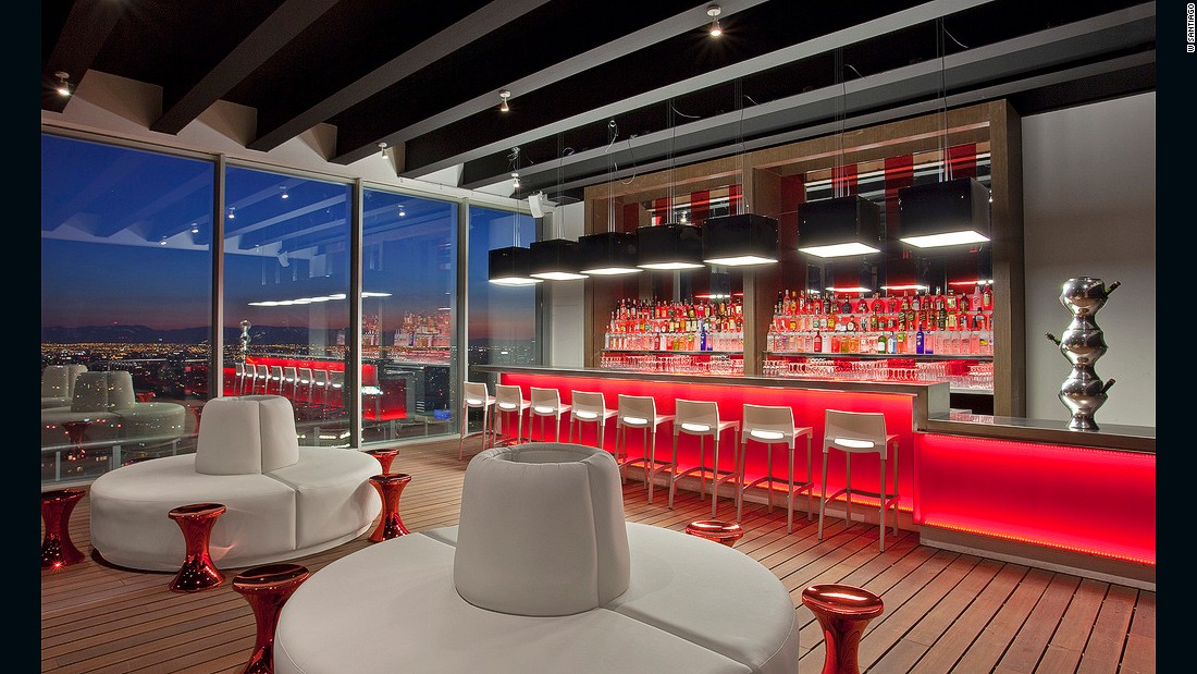 Co-designed by New York's Tony Chi, you could be fooled into thinking this sleek rooftop bar is in Midtown Manhattan -- if it weren't for the views over the snow-capped Andes. Throw in beautiful cocktails and A-list clientele and you have the most exclusive bar in Santiago.