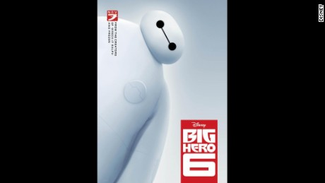 "The animated movie ""Big Hero 6"" includes two female heroes."