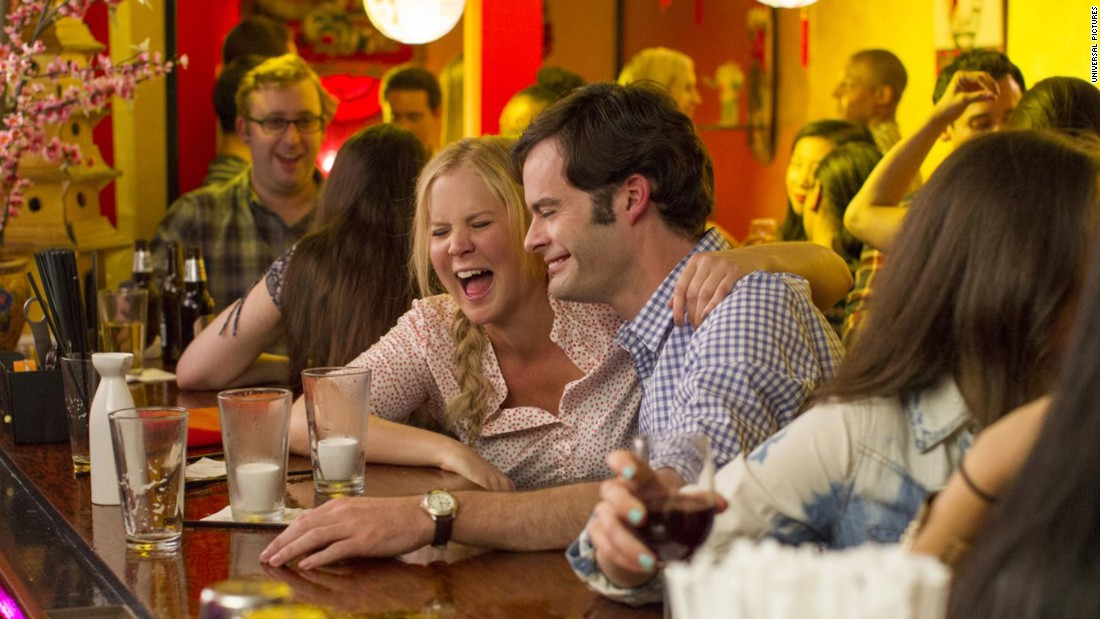 "In ""Trainwreck,"" Amy Schumer plays a woman who steadfastly refuses to get herself involved in a relationship longer than a fling. Then she meets a sports doctor played by Bill Hader. If you've seen the trailers, you know that LeBron James has a role as himself -- and he's hilarious. Judd Apatow directs from Schumer's script. The film opened July 17."