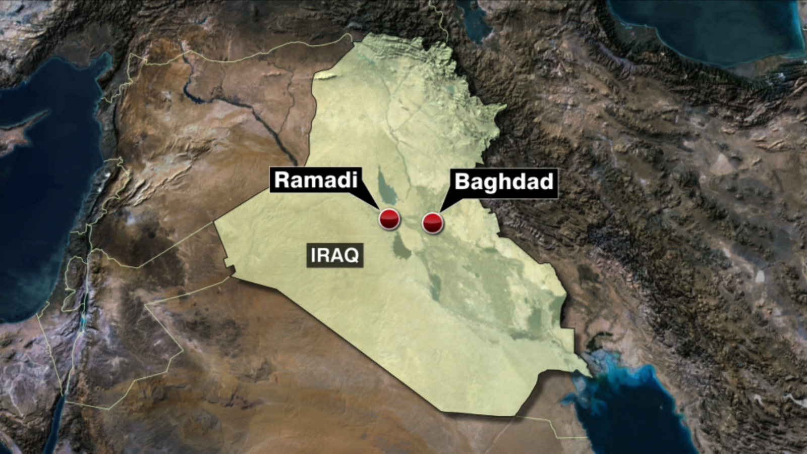 ISIS Loses Over Quarter Of Territory In Iraq Says US CNNcom - Isis location map in us