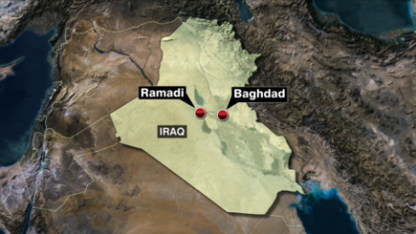 Iraqi city of Ramadi in danger of falling to ISIS