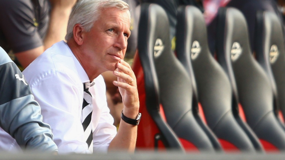 Newcastle started the 2014/20215 with Alan Pardew in charge of the first team, but midway through the season he decamped to Crystal Palace.