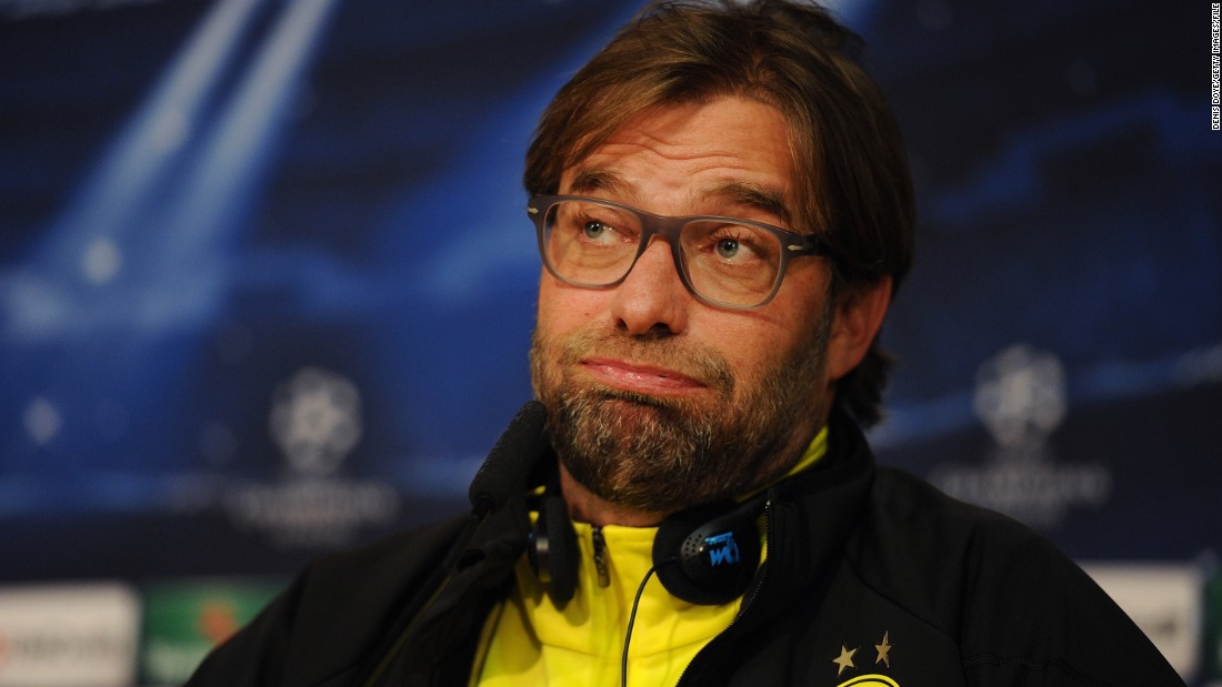 "As well as providing memorable moments on the pitch, Klopp gave numerous sound bites in his press conferences at Dortmund. Take this response when he was asked about his bountiful blonde locks: ""Yes, it's true. I underwent a hair transplant. I think the results are really cool, don't you?"""