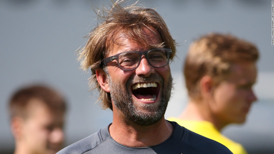 Klopp's reign at Dortmund gave him plenty to smile about. He led the club to two German league titles -- in 2011 and 2012 -- while also clinching the German Cup in 2012.