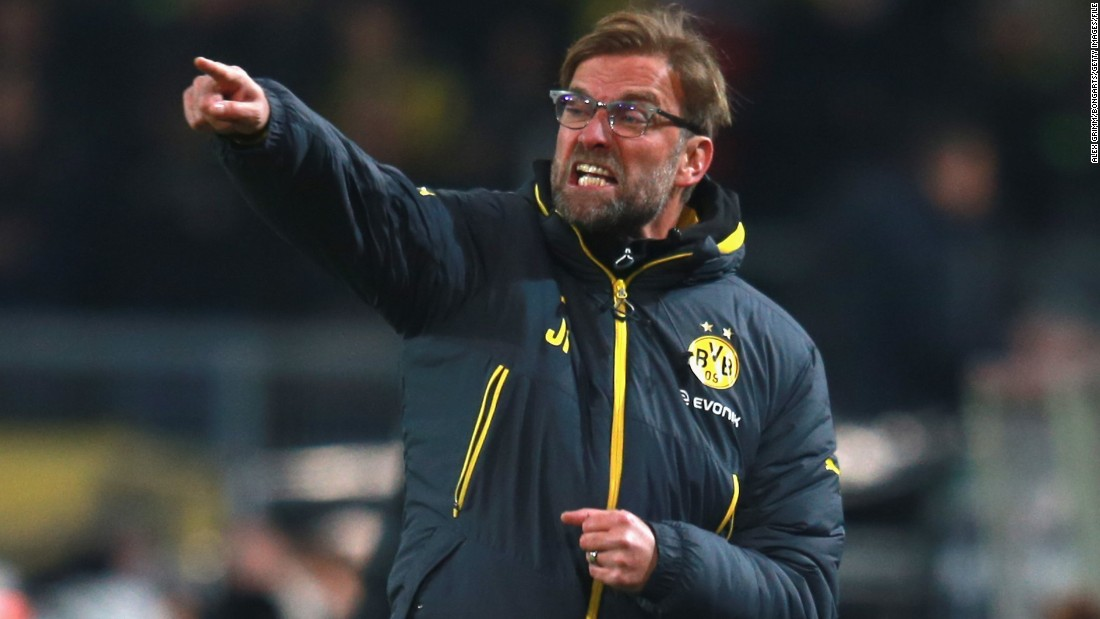 And when he's not happy, Klopp makes his feelings known. No stranger to screaming from the touchlines, he terrified fans all over the world when he tore into a stunned official during Dortmund's match against Napoli in 2013.