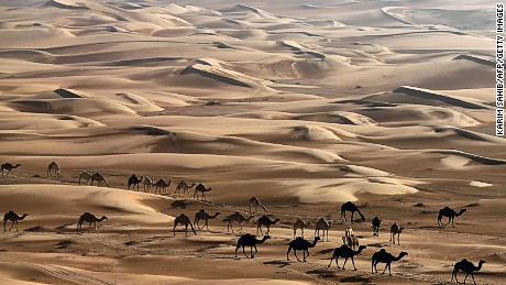 The deserts of Dubai