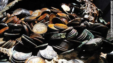 Tons of WWII silver recovered from ocean floor
