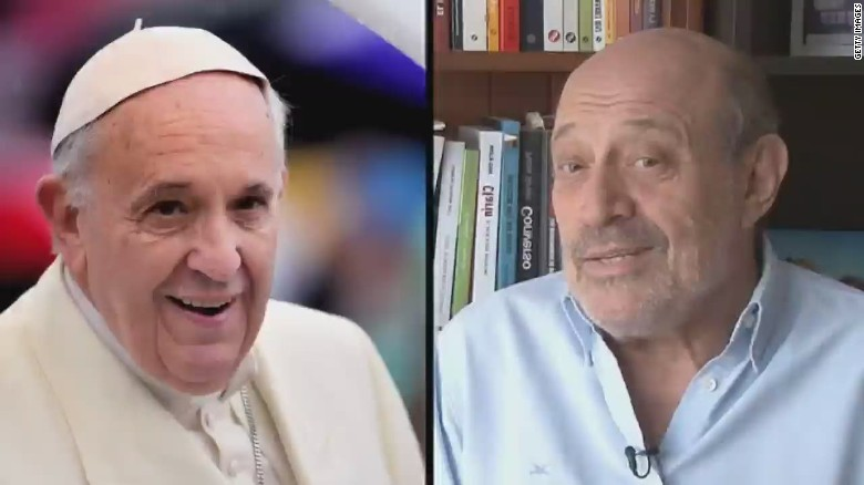Journalist gets unexpected phone call from Pope