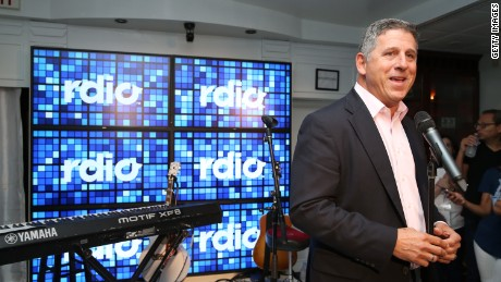 RDIO CEO Anthony Bay during the 2014 Toronto International Film Festival at RDIO House On King Street on September 6, 2014 in Toronto, Canada.