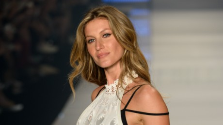 Gisele Bundchen walks the runway during the Colcci show at SPFW Summer 2016 at Parque Candido Portinari on April 15, 2015 in Sao Paulo, Brazil.