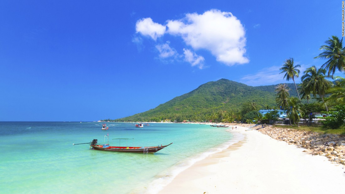 This year's No. 5 island, Ko Tao, is a top destination for scuba divers.