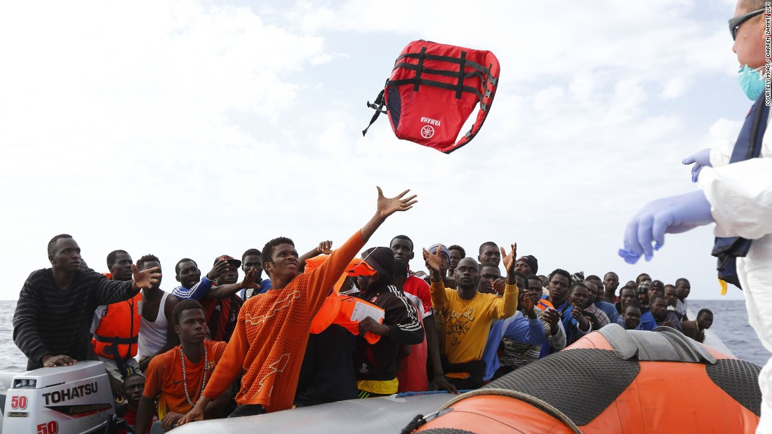 Along with a crew of 20, including doctors and paramedics, the boat is equipped with two high-tech drones, a medical clinic, 1,000 liters of water, hundreds of life jackets, and food.