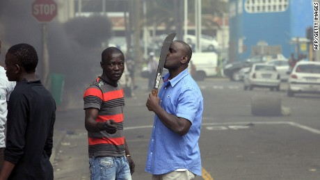 McKaiser: Violence like 'unofficial language' in South Africa