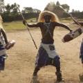 Edwin Sabuhoro poaching dancers