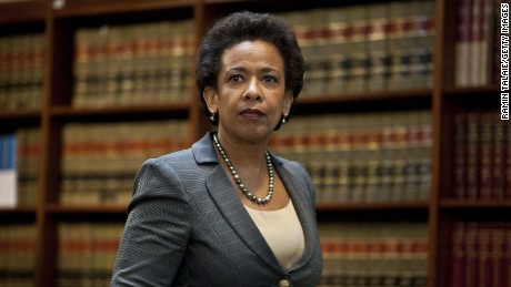 Attorney for the Eastern District of New York Loretta Lynch arrives for a news conference to announce money laundering charges against HSBC on December 11, 2012 in the Brooklyn borough of New York City. HSBC Holdings plc and HSBC USA NA have agreed to pay $1.92 billion and enter into a deferred prosecution agreement with the U.S. Department of Justice in regards to charges involving money laundering with Mexican drug cartels.