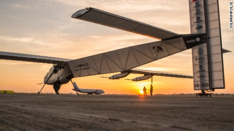 Behind-the-scenes look at the Solar Impulse