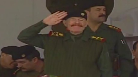 See CNN's Nic Robertson's story in 2003 spotting al-Douri at a military parade, one of last times that al-Douri was seen in public.