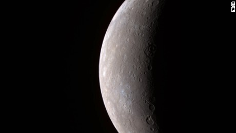 In January 2008, the MESSENGER spacecraft beamed back to Earth the first high-resolution image of Mercury by a spacecraft in over 30 years -- since the flybys of Mariner 10 in 1974 and 1975.