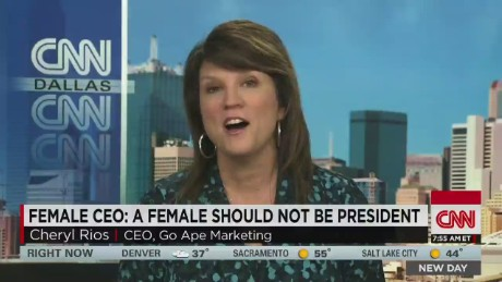 Female CEO: a female should not be president_00005923.jpg