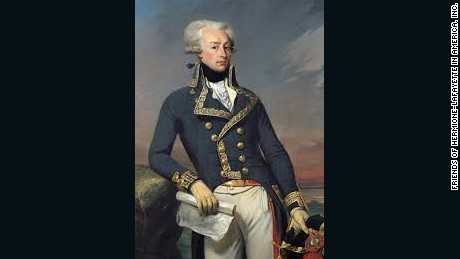 The Marquis de Lafayette fought as a general in George Washington's army.