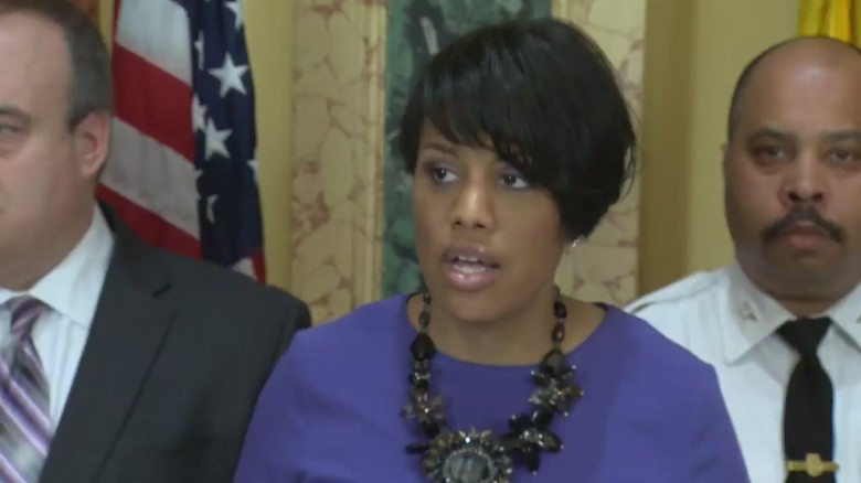 Baltimore mayor speaks on death of Freddie Gray