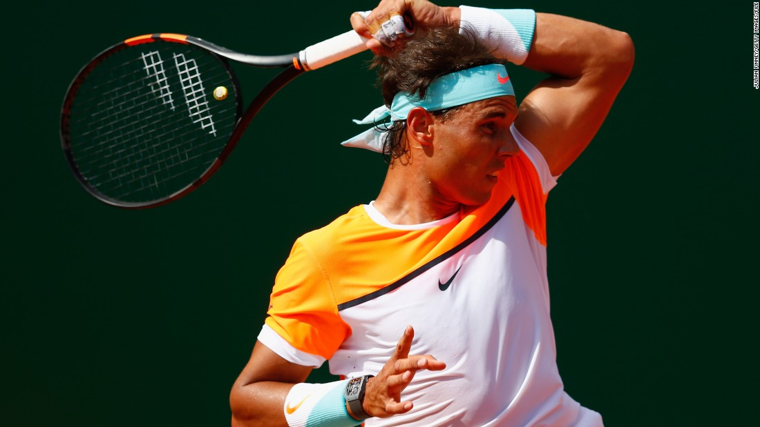 "Decades after Suzanne Lenglen made the sport headband fashionable, Spain's Rafael Nadal opts for an aqua-colored number in Monte Carlo, earlier this year.<br />""Tennis has always been a sport about self-expression,"" says Rothenburg.<br />""That individuality is what really kept tennis going -- whether it's McEnroe, or Agassi, or Serena or Venus Williams, they all have that independent streak that I think people really admire."""