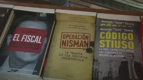 cnnee sarmenti argentina book about nisman death_00001905