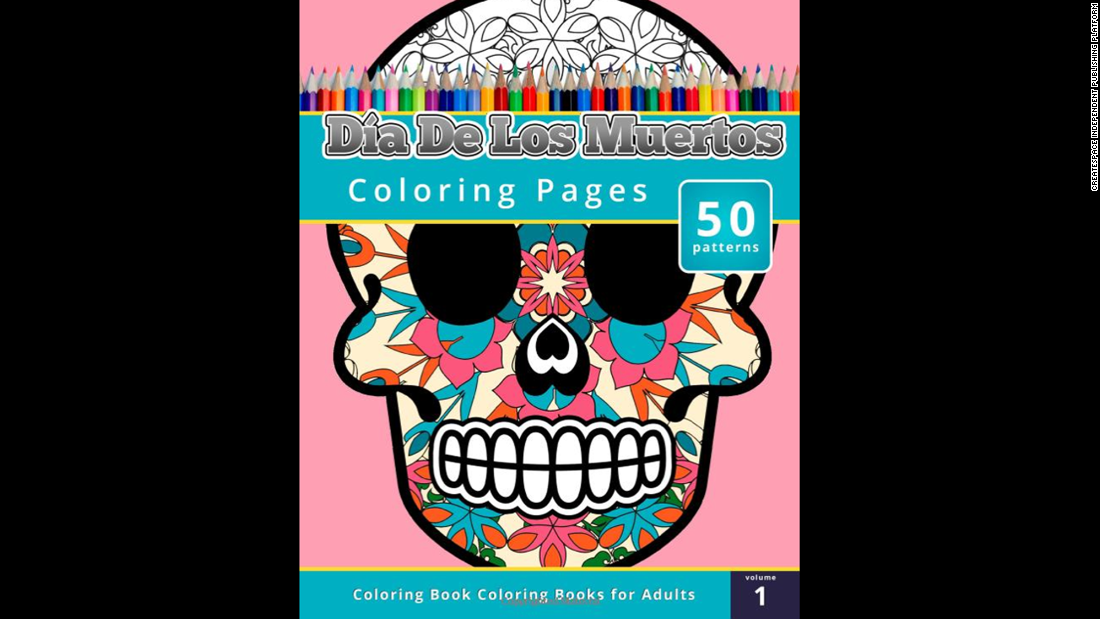 """<a href=""http://www.amazon.com/Coloring-Books-Grownups-Dia-Muertos/dp/1503021343/ref=sr_1_1?s=books&ie=UTF8&qid=1429573069&sr=1-1&keywords=Coloring+Books+for+Grownups%3A+Dia+de+los+Muertos"" target=""_blank"">Coloring Books for Grownups: Dia de los Muertos</a>""<br />by Chiquita Publishing is an offering that might not be appropriate for young children, but offers adults the chance to create art with cultural iconography."