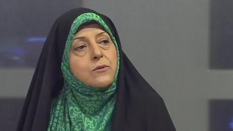 intv amanpour iran pleitgen Masoumeh Ebtekar_00011509