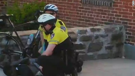 Why did Baltimore police chase Freddie Gray?