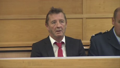 AC/DC's Phil Rudd pleads guilty to 'threat to kill'