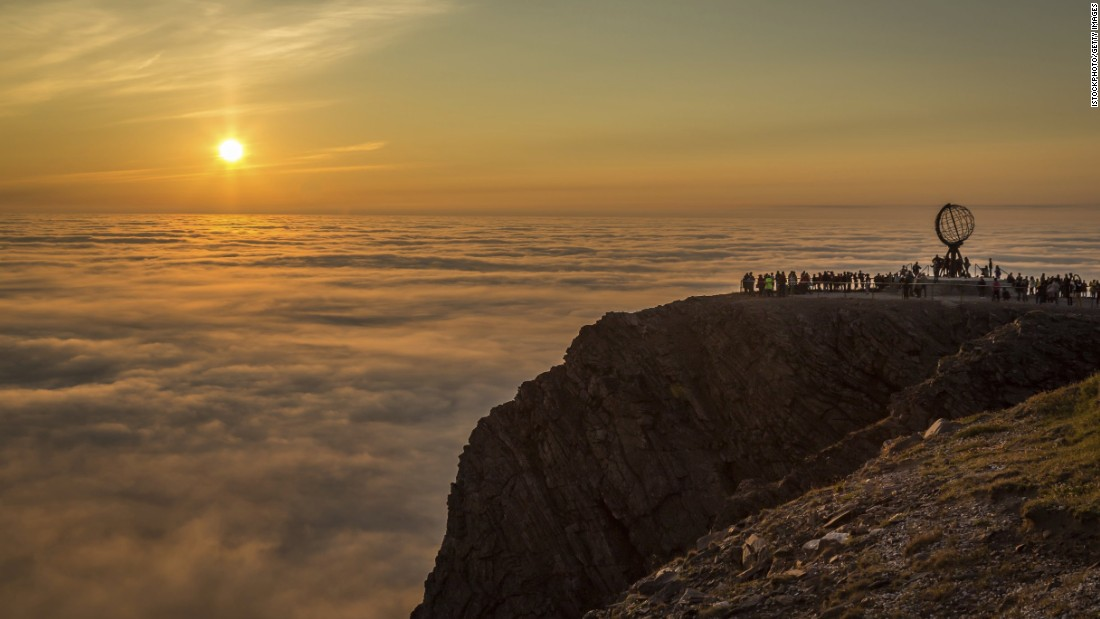 <strong>Norway</strong> is the fourth-happiest country in the world, and the country's North Cape is considered by many to be the best place to view the midnight sun. During the summer months, the sun never sets above the Arctic Circle.