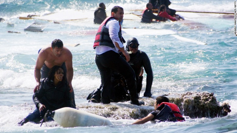2 survivors of migrant boat disaster arrested
