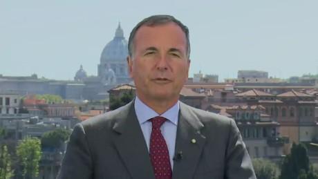 exp Former Italian FM: Libyan power vacuum fuels migrant crisis_00002414