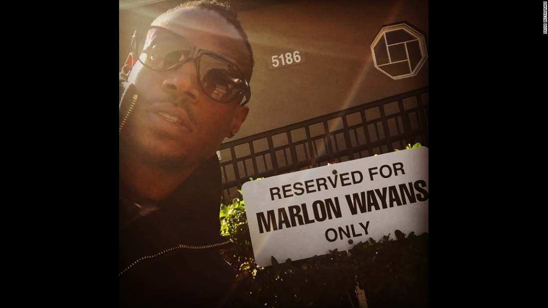 """Offices are NOW OPEN!!!"" actor Marlon Wayans said in this selfie <a href=""https://instagram.com/p/1t2r5UOjdC/?taken-by=marlonwayans"" target=""_blank"">he posted to Instagram</a> on Monday, April 20."