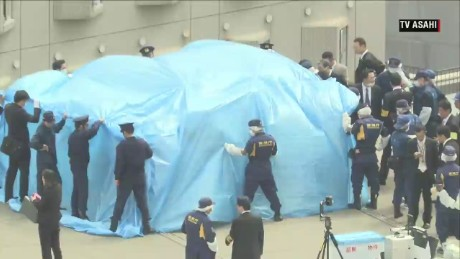 Drone found on roof of Japanese Prime Minister's office